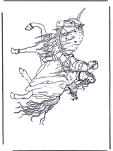 Imprimer le dessin en couleurs : Licorne, numéro 117441
