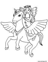 Imprimer le coloriage : Licorne, numéro 119f3b9