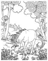 Imprimer le coloriage : Licorne, numéro 128459