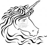 Imprimer le coloriage : Licorne, numéro 141841