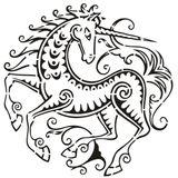 Imprimer le dessin en couleurs : Licorne, numéro 20773