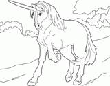 Imprimer le dessin en couleurs : Licorne, numéro 21473