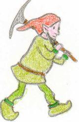 Imprimer le dessin en couleurs : Lutin, numéro 12003
