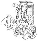 Imprimer le coloriage : Lutin, numéro 130074