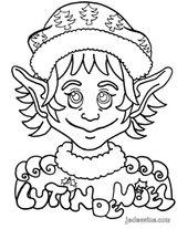 Imprimer le coloriage : Lutin, numéro 130082