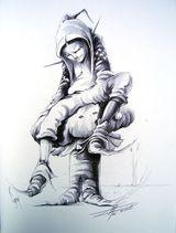 Imprimer le dessin en couleurs : Lutin, numéro 9961