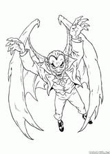 Imprimer le coloriage : Monstres, numéro 1b1ae2ec
