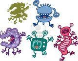Imprimer le dessin en couleurs : Monstres, numéro 208705