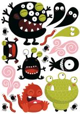 Imprimer le dessin en couleurs : Monstres, numéro 208709