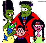 Imprimer le dessin en couleurs : Monstres, numéro 208731
