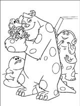 Imprimer le coloriage : Monstres, numéro 209497