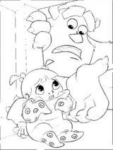Imprimer le coloriage : Monstres, numéro 209498