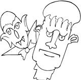 Imprimer le coloriage : Monstres, numéro 209519