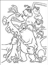 Imprimer le coloriage : Monstres, numéro 209523