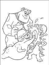 Imprimer le coloriage : Monstres, numéro 209524