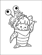 Imprimer le coloriage : Monstres, numéro 209530