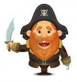 Imprimer le dessin en couleurs : Pirate, numéro 119252