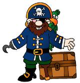 Imprimer le dessin en couleurs : Pirate, numéro 119253