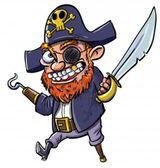 Imprimer le dessin en couleurs : Pirate, numéro 119262