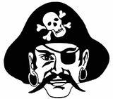 Imprimer le coloriage : Pirate, numéro 130126