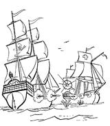 Imprimer le coloriage : Pirate, numéro 130137