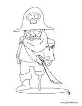 Imprimer le coloriage : Pirate, numéro 130143