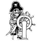 Imprimer le coloriage : Pirate, numéro 13130