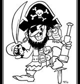 Imprimer le coloriage : Pirate, numéro 13143