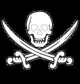 Imprimer le coloriage : Pirate, numéro 13261