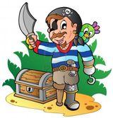 Imprimer le dessin en couleurs : Pirate, numéro 137267