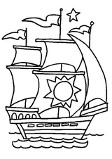 Imprimer le coloriage : Pirate, numéro 1826