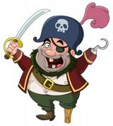 Imprimer le dessin en couleurs : Pirate, numéro 521207