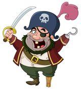 Imprimer le dessin en couleurs : Pirate, numéro 684299