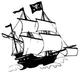 Imprimer le coloriage : Pirate, numéro 9053