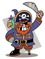 Imprimer le dessin en couleurs : Pirate, numéro 9929