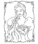 Imprimer le coloriage : Princesse, numéro 113980
