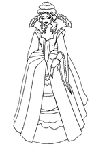 Imprimer le coloriage : Princesse, numéro 113986