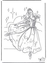 Imprimer le dessin en couleurs : Princesse, numéro 119244