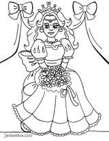 Imprimer le coloriage : Princesse, numéro 130107