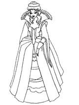 Imprimer le coloriage : Princesse, numéro 130115