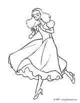 Imprimer le coloriage : Princesse, numéro 130116