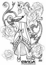 Imprimer le coloriage : Princesse, numéro 13169