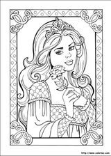 Imprimer le coloriage : Princesse, numéro 13656