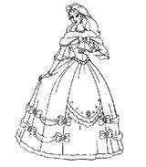 Imprimer le coloriage : Princesse, numéro 293178