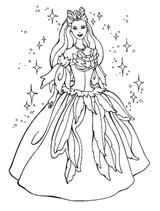 Imprimer le coloriage : Princesse, numéro 370314