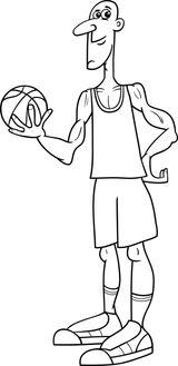 Imprimer le coloriage : Basketball, numéro 228c6a61