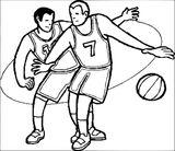 Imprimer le coloriage : Basketball, numéro 41845e3b