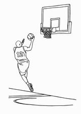 Imprimer le coloriage : Basketball, numéro 459876