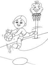 Imprimer le coloriage : Basketball, numéro 459913