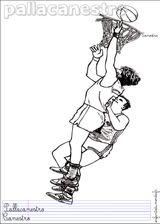 Imprimer le dessin en couleurs : Basketball, numéro 464643